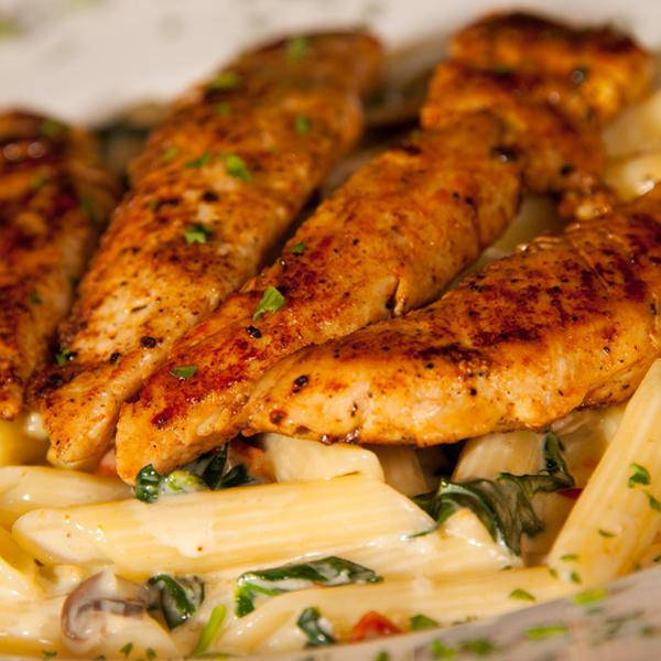Penne-Chicken-Florentine